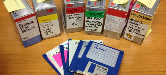 The George Sanger Diskettes at the UT Videogame Archive
