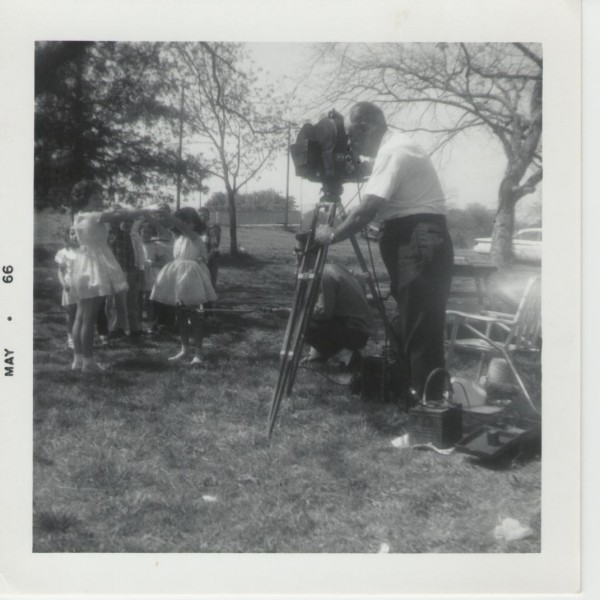 Barker filming May 1966 in an unknown location